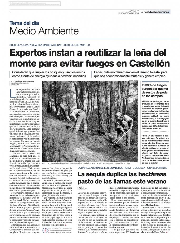 AEFECC El Periodico Mediterraneo